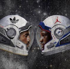 Yeezy vs Jordan Art