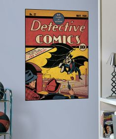 Look what I found on #zulily! Detective Comics #27 Comic Cover Wall Decal by DC Comics #zulilyfinds
