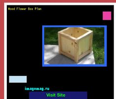 Wood Flower Box Plan 163004 - The Best Image Search