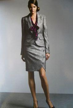 Tailleur sur mesure FIL A SOI : tailleur jupe                                                                                                                                                      Plus