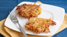 Galettes aux carottes et courgettes