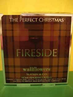 Bath & Body Works Slatkin 2 Fireside Wallflower Refills