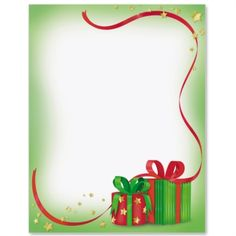 Christmas Magic Letter Paper