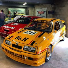 Another very famous escort, Tony Longhursts Bathurst winning entry. Notice the LHD where all the others were right, that is because Tony preferred driving on the left so he had it entirely converted. #ford #sierra #cosworth #hatchback #touringcar #racecar #tonylonghurst #bensenandhedges #simmonswheels #turbo #4cylinder #600hp #bathurst #champion #legend #icon