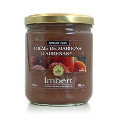 Marrons Imbert - Crème de marrons d'Aubenas