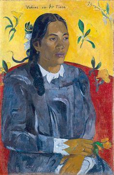Gauguin - Vahine no te tiare (La Femme à la fleur), 1891
