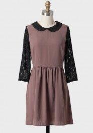 highland dusk collared dress  (shopruche.com)
