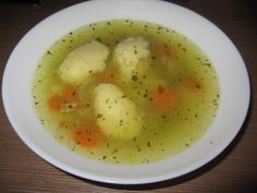 Supa de pui de casa cu galuste