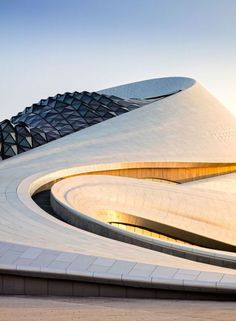 Harbin Opera House (exterior), Harbin, China, 2015. Designed by MAD Architects, China (2010).