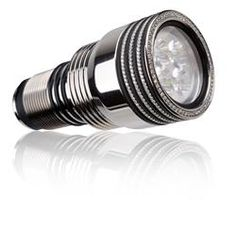 Green Force Lampkop Quadristar Titanium Diamond - Duiklampen