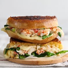Yummy yummy lobster sandwich. Must try!