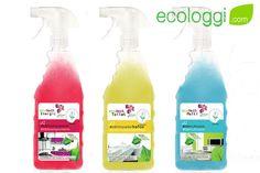 Ecotech Pack Limpieza Ecológica del Hogar. Pack de limpieza para el hogar contiene: Desegrasante, Limpia Baños y Multiusos.