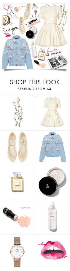 """Breath Of Spring"" by arwitaa ❤ liked on Polyvore featuring Pier 1 Imports, Jones + Jones, Anouki, Chanel, Koh Gen Do, Avène, CLUSE and Old Navy"