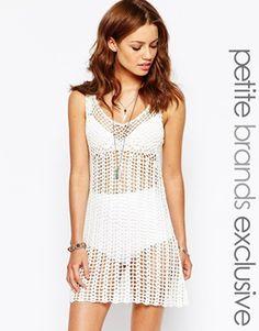 Glamorous Petite Crochet Summer Dress