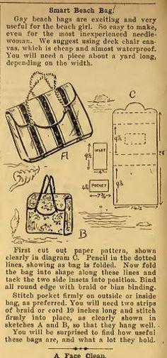 Más tamaños   1949 beach bag   Flickr: ¡Intercambio de fotos!