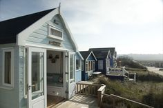 Ecologic Developments create beautifully crafted, custom-built, timber frame beach houses and beach huts. Beach Cottages, Beach Huts, Photo Galleries, Gallery, Building, Places, Houses, Outdoor Decor, Bliss