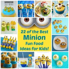 22 of the Best Minion Fun Food Ideas for Kids