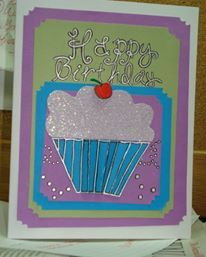 "Happy Birthday ""Cupcake"" Card"