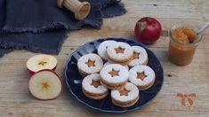 Ovsené koláčiky s jablkovou plnkou - Sisters Bakery Baking Recipes, Bakery, Muffin, Sisters, Archive, Cookies, Breakfast, Desserts, Food