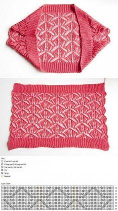 Quimono de moda a dos agujas ¡tan sencillo como bonito! Quimono de moda a dos agujas ¡tan sencillo como bonito! Crochet Bolero Pattern, Crochet Jacket, Crochet Cardigan, Crochet Shawl, Knit Crochet, Knit Shrug, Knit Poncho, Knit Cowl, Jacket Pattern