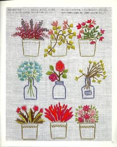 Wonderful Ribbon Embroidery Flowers by Hand Ideas. Enchanting Ribbon Embroidery Flowers by Hand Ideas. Sashiko Embroidery, Japanese Embroidery, Learn Embroidery, Silk Ribbon Embroidery, Hand Embroidery Patterns, Vintage Embroidery, Embroidery Applique, Cross Stitch Embroidery, Machine Embroidery