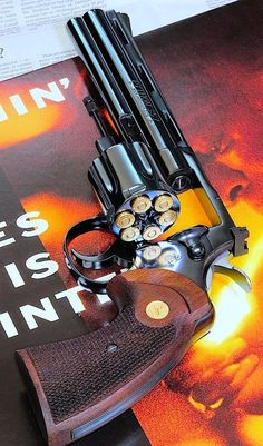Happy Early Birthday, Colt Python, 357 Magnum, City Hunter, Military Weapons, Revolver, Firearms, Guns, Nerf
