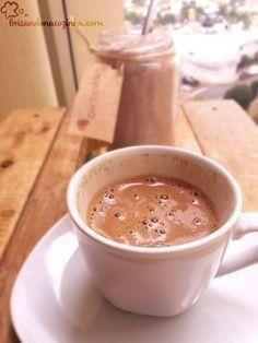 Delicioso pó para preparo de cappuccino! Rende um monte, ótimo para presentear, e muito muito gostoso!