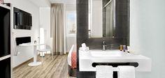 Habitación del Hotel Innside Madrid Suecia.