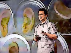 """O cientista que usa maçãs para fazer orelhas  Andrew Pelling é um """"biohacker"""" e a natureza é o seu hardware. Seus materiais prediletos são os mais simples (e na maioria das vezes ele os procura no lixo).  Na estrutura de celulose que dá forma à maçã ele """"cultiva """"orelhas vivas"""" na vanguarda de um processo que poderá um dia ser usado para reparar partes do corpo de forma segura e barata. E ele tem ideias ainda mais surpreendentes para compartilhar... """"Mas fico imaginando se algum dia vai ser…"""