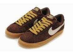 ナイキ Nike ブレザーロー スエード ブラウン ベージュ Nike0424