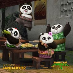 Kung Fu Panda 3 is in theaters now. Check out the trailer & enter to win a prize pack. Ends 2/13/16