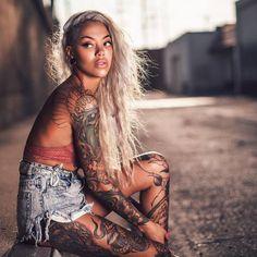 FEATURE: Swedish Tattooist Miryam Lumpini And Her Captivating Tattoos - AFROPUNK