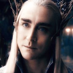 Thranduil, King of the Woodland Realm and the most: Misunderstood Fabulous Glamorous Beautiful Pulchritudinous Dark 'Greedy' Loving Fatherly Amazingly Glamorous Elf in all of middle earth <3 <3 <3 <3 <3