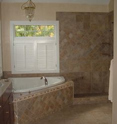 tiled shower pictures | ... tiling membrane. We also offer free estimates and will work with our