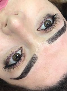 May 2019 - At MDB Microblading In Glasgow Will Be Changing To The Nanoblading Technique For Even More Realistic Permanent Brows Get In Early! Hair Stroke Eyebrows, Mircoblading Eyebrows, Eyebrows Goals, Perfect Eyebrow Shape, Perfect Brows, Thick Eyebrow Shapes, Semi Permanent Eyebrows, Permanent Makeup, Eyebrow Makeup Tips