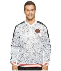 PUMA PUMA X Daily Paper Crew Sweatshirt (Puma White AOP) Men's Sweatshirt