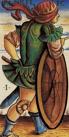I. The Magician (Panfilio) - Sola-Busca Tarot