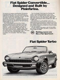 1982 Fiat Spider