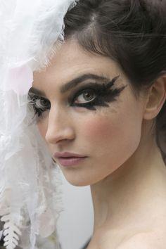 Chanel Haute Couture makeup.
