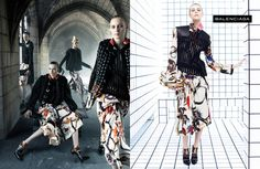 Balenciaga Fall Winter 2011-2012 Ad Campaign