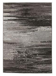 Calvin Stunning Charcoal Grey Rug