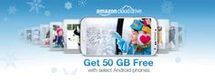 Amazon offering 50GB of free Cloud Drive storage with select Android phones    #CloudStorage #AmazonCloud