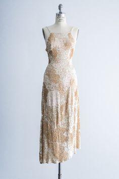 1980s beaded dress   shopgossamer.com