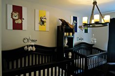 Harry Potter Nursery. YES. I don't know what I'll do if my children decide for some reason they DON'T like HP..