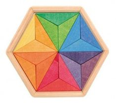 Grimm's Complimentary Star Puzzle - Honeybee Toys