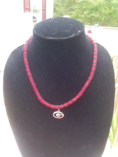 UGA Rope Necklace by daykat59 on Etsy, $60.00