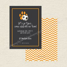 Soccer+or+Tiger+Team+Party+Tiger+paw+Clemson+by+NetsyandCompany,+$18.00