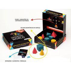 Caixa de Euclides-Geometric World. Brinquedos didácticos para crianças. Muito úteis para o desenvolvimento das crianças. www.planetadidactico.com