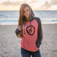 Want this ten tree hoodie. Ten trees are planted for every item purchased. Girl Outfits, Casual Outfits, Cute Outfits, Fashion Outfits, Women's Fashion, Teen Hoodies, 10 Tree, Vegan Fashion, Sustainable Clothing