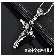 2016 Real Collares Sterling Jewelry Fashion Jewelry 2 Colors Vampire Diaries Sacred Memorial Cross Necklace Pendant Best Gift